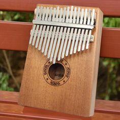 Kalimba 17 Keys Letter in Mahogany - 60% OFF TODAY