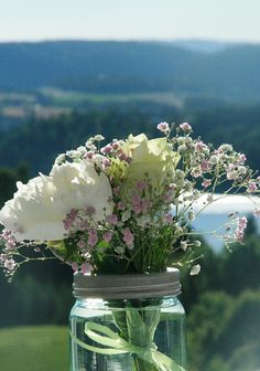 Blomster i norgesglass