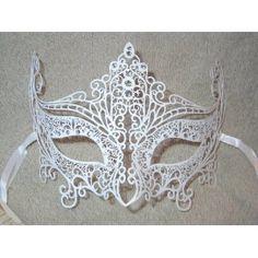 #white #masquerade #mask
