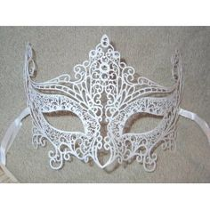 #white #masquerade #mask