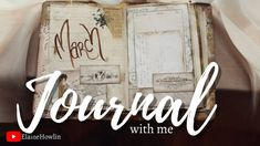 Journal with Me | March | What to put in your reading journal ✏️ Reading Journals, Junk Journal, Etsy Store, March, Scrapbooking, Mac