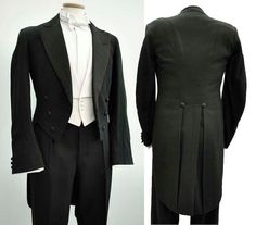 Men's Vintage Victorian Formal Dress Tailcoat 3638 by DillyDandy, £135.00