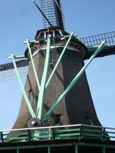 Wind mill around Amsterdam