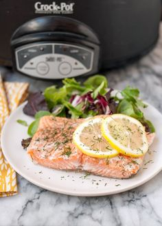 Want to see some of the absolute best salmon recipes of all time? Then check out these tasty ways to cook salmon. The bonus salmon recipe might surprise you Slow Cooker Recipes, Crockpot Recipes, Cooking Recipes, Healthy Recipes, Whole30 Recipes, Crockpot Dishes, Healthy Meals, Yummy Recipes, Slow Cooking