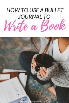 You've dreamt of writing a book.so here's a really easy way for you to start writing your book.How to use a bullet journal to finally write and FINISH your book! Fiction Writing, Writing Advice, Writing Resources, Writing Help, Writing Ideas, Writing Inspiration, Writing Goals, Start Writing, Writing Skills