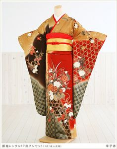 New Year's Furisode
