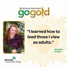 Meredith L. from O'Fallon earned the Girl Scout Gold Award for starting a campaign to provide much needed crochet hats to the Newborn Intensive Care Unit at St. Louis Children's Hospital.