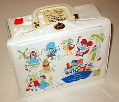 vintage It's a Small World Lunch Box Disney