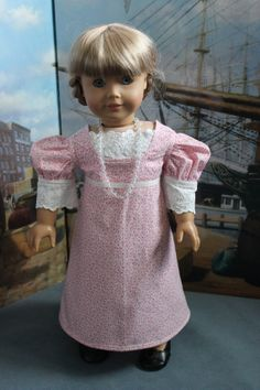 American Girl Doll Clothes  Regency Style by ForAllTimeDesigns, $68.00