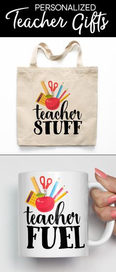 Personalized Teacher Gifts from Heart & Willow - Teacher Gifts, Teacher Mugs, Teacher Tote Bags, Teacher Magnets, End of the Year Teacher Gifts