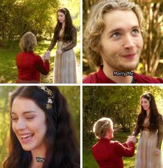 "S1 Ep 8 ""Fated"" - Mary and Francis soooooooooooooo happy"