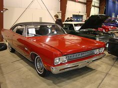 1969 Plymouth Sport Fury Red