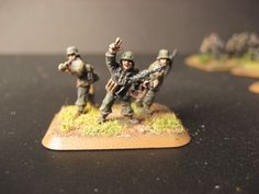 Flames of War, 15mm  SS Panzergrenadier, Company HQ 2