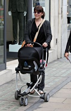 Spotted: Melanie C. with Maxi Cosi Mura 4