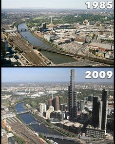 Melbourne Then And Now Pictures, Old Pictures, Old Photos, Places In Melbourne, Melbourne Travel, Melbourne Victoria, Victoria Australia, Melbourne Australia, Australia Travel