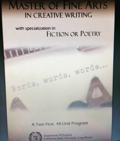Creative Writing hardest bachelor degrees