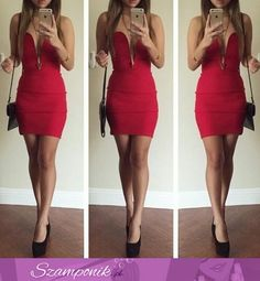 Dopasowana seksowna sukienka!