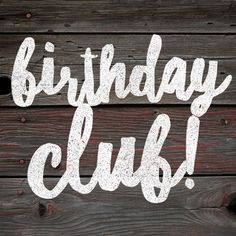 #WordSwagApp #lularoe #graphic #birthdayclub #birthday Graphic for a birthday club