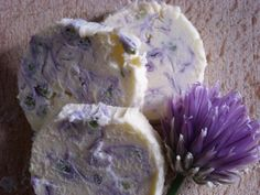 Chive Flower Butter is a really quick and easy way to enjoy chive flowers and can be used to add colour and flavour to savoury snacks and dishes.