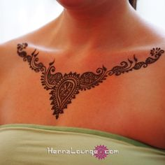 mehndi necklace by Henna Lounge