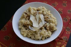 Parsnip and Rosemary Risotto