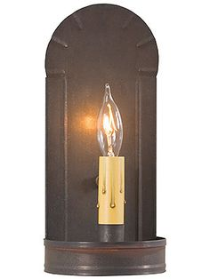 Crimped Tin Fireplace Sconce | House of Antique Hardware