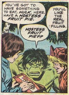 Hulk is displeased by your puny product placement.
