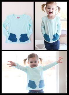 Mitten Sweater Tutorial! So Adorable!!!