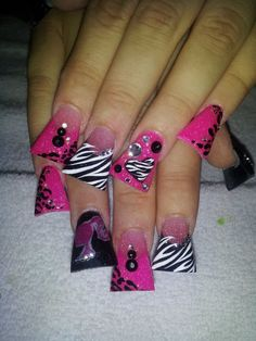 Barbie!! Nails by Bling Em Nails! Any questions about classes,or comments please email blingemnails@gmail.com