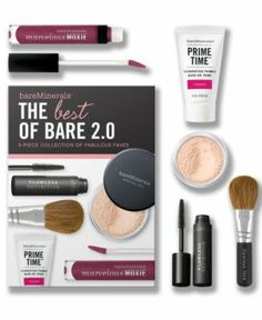 Bare Escentuals bare Minerals The Best of Bare 2.0 Makeup Value Set Beauty GIFTS