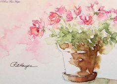 Pink Flowers  RoseAnn Hayes