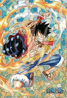 Red hawk luffy / One Piece Anime One Piece, One Piece Ace, One Piece World, One Piece Fanart, One Piece Luffy, Manga Anime, Otaku Anime, Monkey D Luffy, One Piece Tattoos