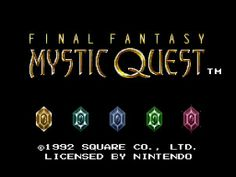 Review of Final Fantasy Mystic Quest