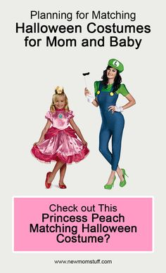 Planning for matching Halloween costumes for Mom and Baby Girl? Check out this Princess Peach matching Halloween costume? matching_halloween_costumes_for_mom_and_baby_girl Matching Halloween Costumes, Mom Costumes, Family Halloween Costumes, Newborn Schedule, Toddler Schedule, Pregnancy Stages, Pregnancy Tips, Toddler Discipline, Baby Supplies