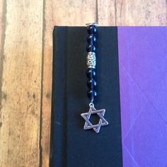 Star of David   Clip On Bookmark by DungleBees on Etsy, $13.99