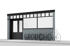 Bicycle stand for the Groucho Club by Robin Monotti Architects