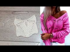"НОВИНКА! ИНТЕРЕСНЫЙ УЗОР ""ЛИСТЬЯ"" ДЛЯ ДЖЕМПЕРА. - YouTube Snowflake Quilt, Needlepoint Designs, Summer Knitting, Knitting Socks, Fashion History, Sweater Cardigan, Crochet Top, Quilts, Tops"