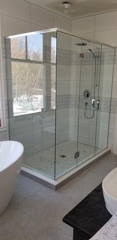 douche en verre douche