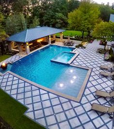 When you are making a swimming pool there are a great deal of elements to take into consideration: form, design, personalized pool functions, patio choices. Locate the most effective above ground pools & garden pool design. Source by Small Swimming Pools, Luxury Swimming Pools, Luxury Pools, Small Pools, Dream Pools, Swimming Pools Backyard, Swimming Pool Designs, Pool Landscaping, Lap Pools