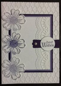 Hi everyone, Using a flower from the Flower Shop stamp set (#130942) I again used the masking technique on this card. I stamped the middle f...