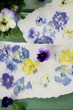 Craftberry Bush | Pressed flowers prints | http://www.craftberrybush.com