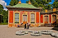 the China Pavilion at Drottningholm's Palace by Erik Anestad