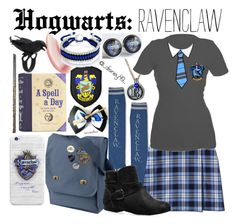 """""""Hogwarts: Ravenclaw"""" by disney49 ❤ liked on Polyvore featuring Ilia, Lands' End, Avenue and Bling Jewelry"""