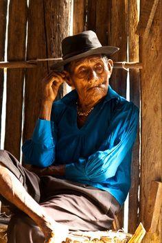 Village elder....  Isla Nusatupu, Kuna Yala, Panama