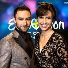 Petra Mede and Måns Zelmerlöw to host #Eurovision Song Contest 2016 in Stockholm! #SVT #presenters