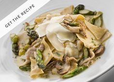 Asparagus pasta you can make at home via @PureWow