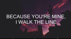 i walk the line // halsey