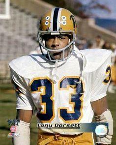 Greatest Pitt Panther of All Time! Pitt Football, College Football Players, Steelers Football, School Football, Football Cards, Football Helmets, Tony Dorsett, Pitt Panthers, Pittsburgh Sports