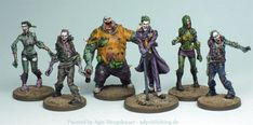 Agis Page of miniature painting and gaming - Zombicide
