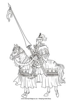 coloring pages of medieval times - knights in shining armor coloring pages medieval times